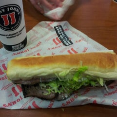 Photo taken at Jimmy John's by Shannon M. on 8/31/2013