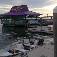 Photo taken at Inlet Harbor Restaurant, Marina & Gift Shop by Bonnie M. on 5/25/2013
