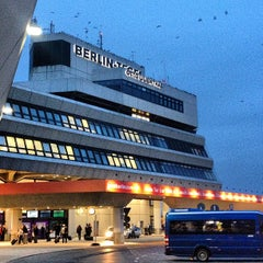 Photo taken at Flughafen Berlin-Tegel Otto Lilienthal by tschi on 3/7/2013