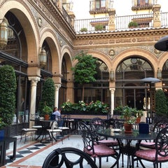 Photo taken at Hotel Alfonso XIII by Susana N. on 11/7/2013