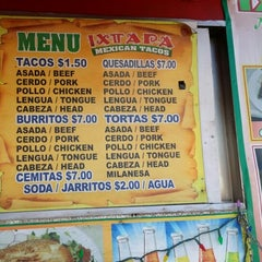 Photo taken at Ixtapa Mexican Taco Truck by Chariss B. on 1/8/2014