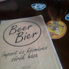Photo taken at BeerBier by Adam T. on 7/20/2012