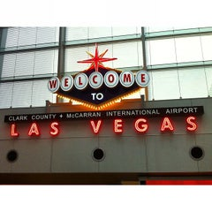 Photo taken at McCarran International Airport by Jessica L. on 7/5/2013