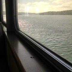 Photo taken at M/V Hyak (Washington State Ferry) by Sarah on 3/8/2015