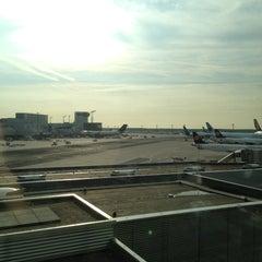 Photo taken at Dortmund Airport (DTM) by Oleg P. on 8/29/2013