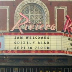 Photo taken at Riviera Theatre by Mary on 10/1/2012