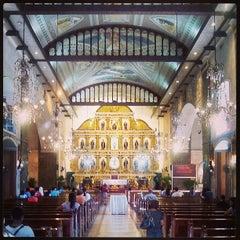 Photo taken at Basilica Minore del Santo Niño by Cedric L. on 6/25/2013