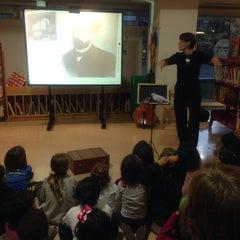 Photo taken at Biblioteca Xavier Amoros by Almudena N. on 12/18/2013