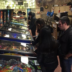 Photo taken at Sunshine Laundry & Pinball Emporium by Helena W. on 2/15/2015