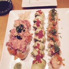 Photo taken at Mizu Sushi Steak Seafood by Kyle B. on 3/8/2015