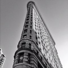 Photo taken at Flatiron Building by Paul S. on 11/11/2012