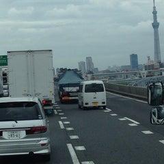 Photo taken at 首都高 小菅JCT by Hiroshi K. on 8/29/2014