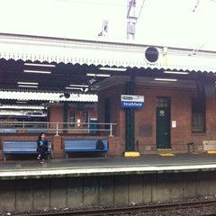 Photo taken at Strathfield Station (Platforms 7 & 8) by 명숙 최. on 11/18/2013