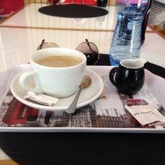 Photo taken at Tea & Eat by Georgi B. on 4/10/2015