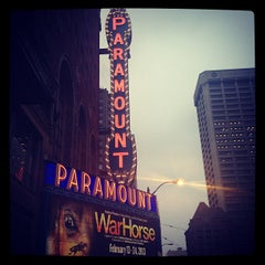 Photo taken at Paramount Theatre by Bianca S. on 2/21/2013