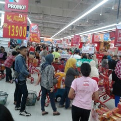 Photo taken at LotteMart by Asnawi P. on 1/30/2015