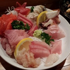Photo taken at Toyoda Sushi by Dion W. on 2/21/2014