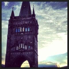 Photo taken at Staroměstská mostecká věž | Old Town Bridge Tower by Raf K. on 5/22/2013