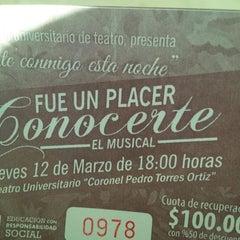 "Photo taken at Teatro Universitario ""Cnel. Pedro Torres Ortíz"" by Carmen S. on 3/12/2015"