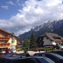 Photo taken at Toblach / Dobbiaco by Viktor S. on 8/10/2014