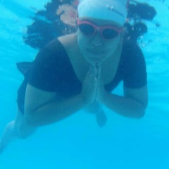 Photo taken at Sagara swimming pool by Hara H. on 10/18/2014