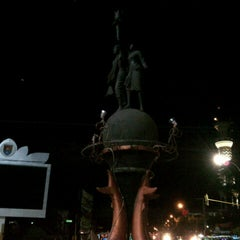 Photo taken at Alun-Alun Cilacap by Mohamad A. on 8/24/2013