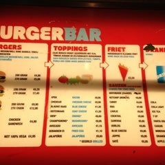 Photo taken at Burger Bar by Jochem L. on 10/2/2012