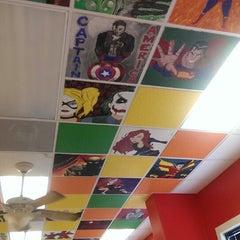 Photo taken at Laredo Pizza Factory by Janet Z. on 8/24/2013
