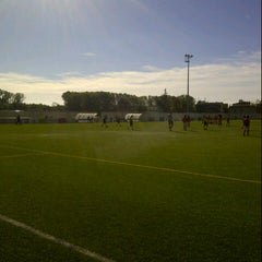 Photo taken at Camp De Futbol De St. Pere Pescador by Sandra G. on 10/14/2012