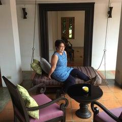 Photo taken at Sukhothai Heritage Resort by Padee A. on 10/24/2015