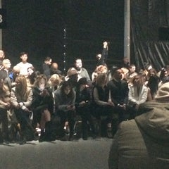 Photo taken at The Stage At MBFW by Jenny S. on 2/12/2015