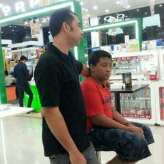Photo taken at Cellular World by Eka D. on 8/16/2014