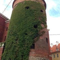 Photo taken at Pulvertornis | Powder Tower | Пороховая башня by Selin Z. on 9/3/2013
