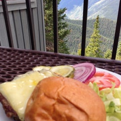 Photo taken at The Sundeck at Aspen Mountain by Chuck W. on 8/30/2015
