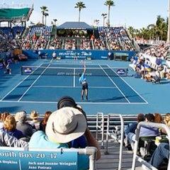 Photo taken at Delray Beach International Tennis Championships (ITC) by Joseph A. on 2/19/2014