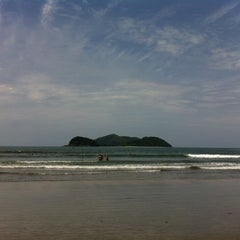 Photo taken at Barra do Sahy by Alessandro L. on 12/1/2012