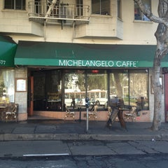 Photo taken at Michelangelo Caffe by jp l. on 3/12/2013