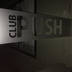 Photo taken at Club Push by Nathan M. on 6/18/2014