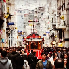 Photo taken at İstiklal Caddesi by Tomy C. on 10/21/2013