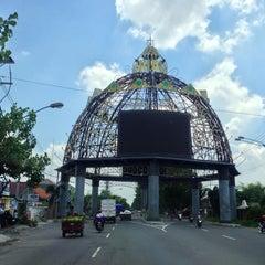 Photo taken at Tugu Adipura by Andy C. S. on 11/27/2012
