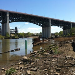Photo taken at Cuyahoga River by Gregory W. on 5/13/2013