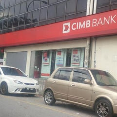 Photo taken at CIMB Bank by saada a. on 1/28/2014