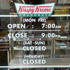 Photo taken at Krispy Kreme by FR○ST on 5/11/2013