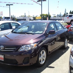 Photo taken at Capitol Toyota by Anna E. on 8/30/2013