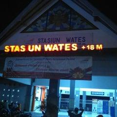 Photo taken at Stasiun Wates by Titus T. on 12/26/2015