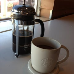 Photo taken at Starbucks by Holly O. on 10/20/2012