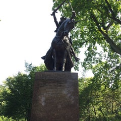 Photo taken at King Jagiello / Poland Monument by Dave K. on 9/7/2015