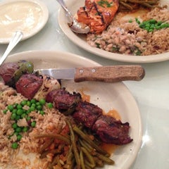 Photo taken at Epsilon Fine Greek Restaurant by 수수한가카 on 8/8/2014