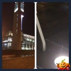 Photo taken at Duane G Meyer Library by Murat K. on 12/11/2014