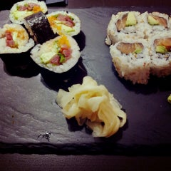Photo taken at Edoki Sushi Bar by Lidya E. on 11/17/2013